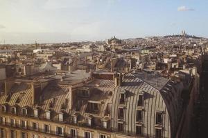 Pariser Dächer foto