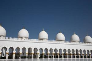 Scheich Zayed Moschee in Abu Dhabi