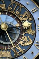 astrologische Uhr foto