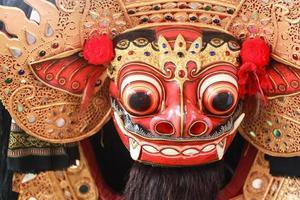 Barong-Maske, Signatur der balinesischen Kultur foto