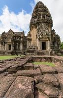 asiatische Tempel und Kultur des alten historischen Parks