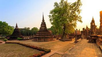 Sukhothai historischen Park die Altstadt von Thailand