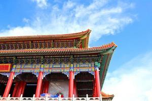 traditioneller Tempel im chinesischen Stil in Wat Leng-Noei-Yi foto
