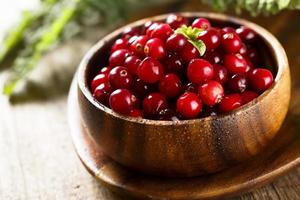 frische Cranberry foto