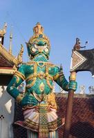 Thailand Riesenstatue foto