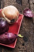 Zwiebeln, gesundes Gemüse foto