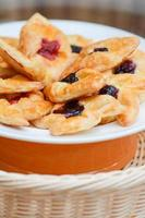 frische Bäckerei aus dem Ofen backen