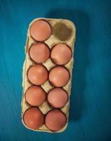 frische Eier foto