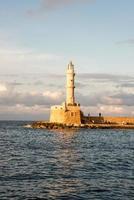 Chania Leuchtturm foto