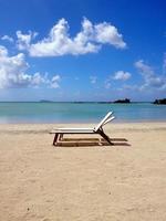 traumstrand mauritius foto