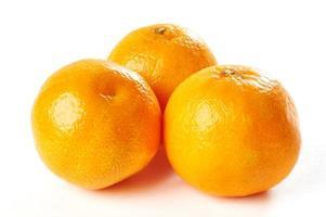 Mandarine isoliert foto