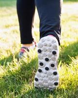 Füße des Läufers