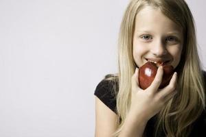 knuspriger Apfel 3 foto