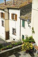 Cortona. Toskana. Italien. Europa. foto
