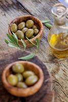 frische Oliven foto