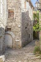 Gasse in Balazuc, Frankreich (Bezirk Ardeche)