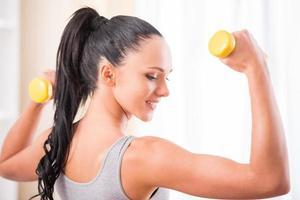 Fitness zu Hause foto