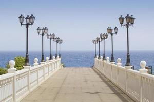 Treppen zum Meer foto