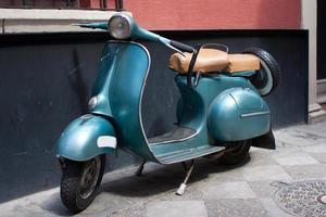 klassisches Motorrad foto