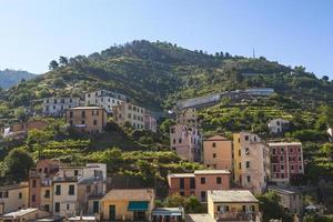 Häuser auf dem Hügel foto