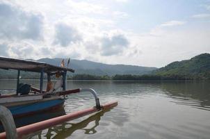 tropisches Boot foto
