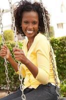 Afroamerikanerin foto