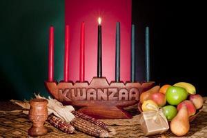 Kwanzaa - Afroamerikanerfeiertag foto