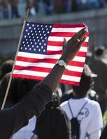 amerikanische Flagge foto