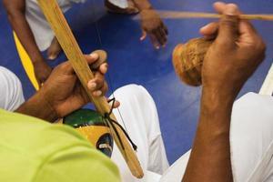 berimbau na capoeira foto
