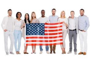 Team von Amerika. foto