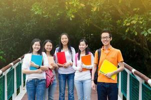 asiatische College-Studenten foto