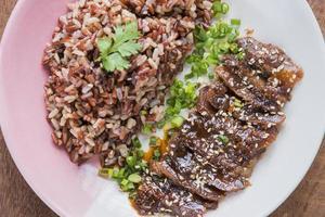 asiatischer Food-Stylist foto