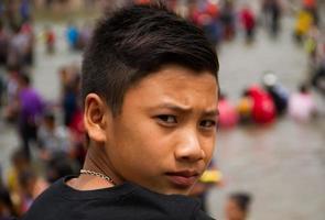 süßer asiatischer Typ foto
