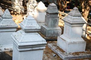 asiatischer Friedhof foto