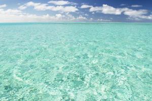 Bora Bora klares Wasser foto