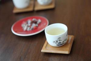 asiatische Teetassen foto