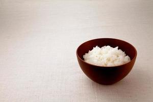asiatischer Reis. foto