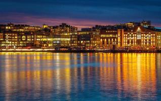 Lichter der Stadt foto