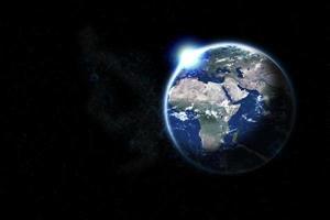Erde foto