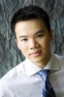 asiatischer Geschäftsmann foto