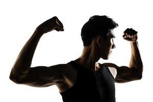 asiatisch gesund muskulös foto