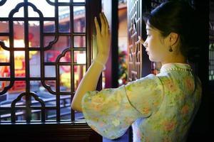 Hintergrund im asiatischen Stil foto