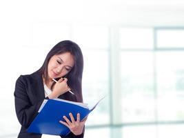 asiatische Geschäftsfrau, foto