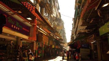 asiatischer Marktplatz foto