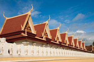 typisch asiatische Architektur foto