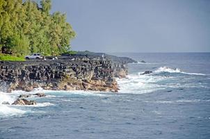 Angeln auf der großen Insel foto
