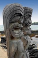 zwei Tiki-Götter foto