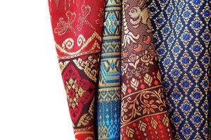 antikes asiatisches Textil
