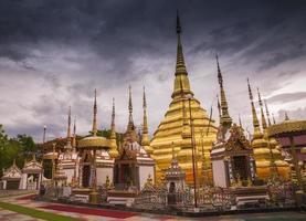 asiatische buddhistische Architektur foto
