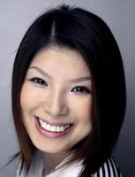 Kopfschuss der asiatischen Frau foto